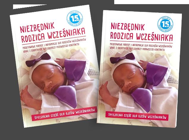 Książka 'Niezbędnik Rodzica Wcześniaka'