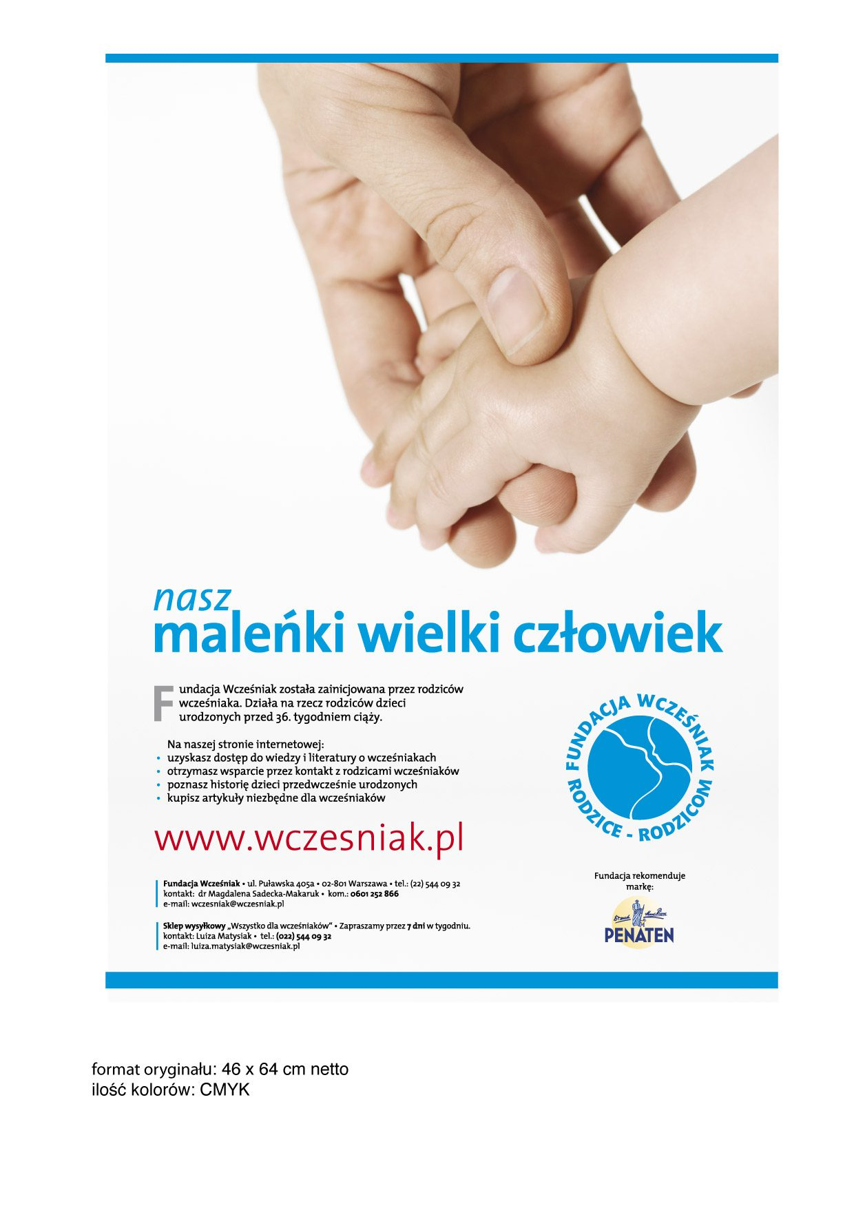 e4acb63945 Materiały reklamowe – Fundacja Wcześniak – Rodzice-Rodzicom