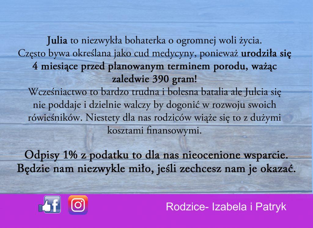 Julia Gołębiewska 1%