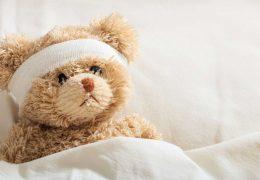 teddy-bear-sick-in-the-hospital